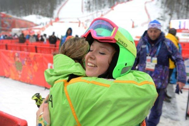 Ieva Januskeviciute Sochi Olympics