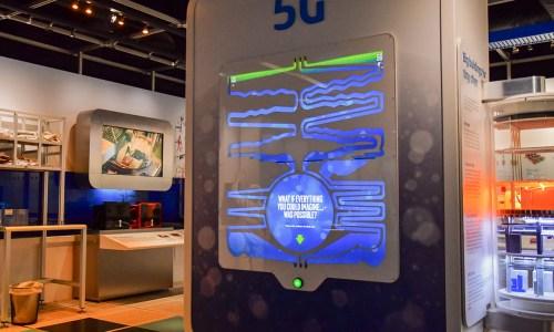 Intel Museum 5G exhibit