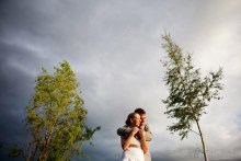Dramatic Wedding Portraits
