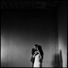 Film Wedding Portrait