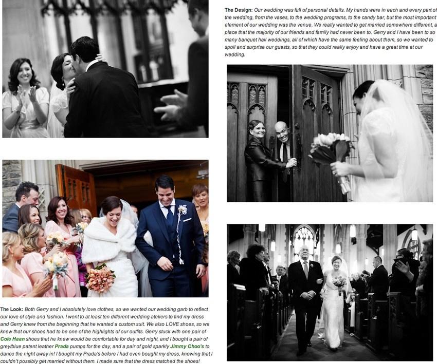 Jenna Tristan Junebug Weddings Blog Feature
