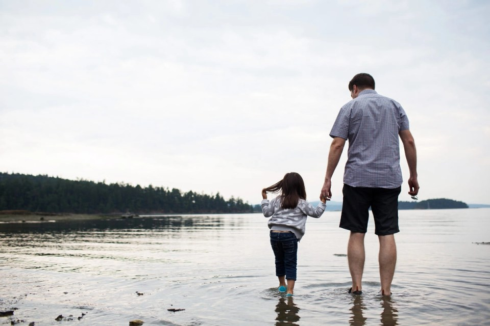 Private Residence Family Photos On Galiano Island With The Grist Family