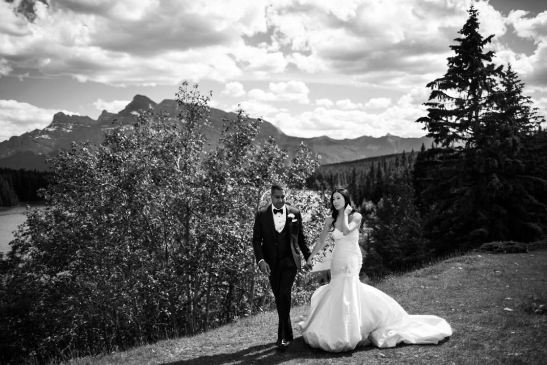 Banff Springs Hotel Wedding In Banff With Linda Ravi