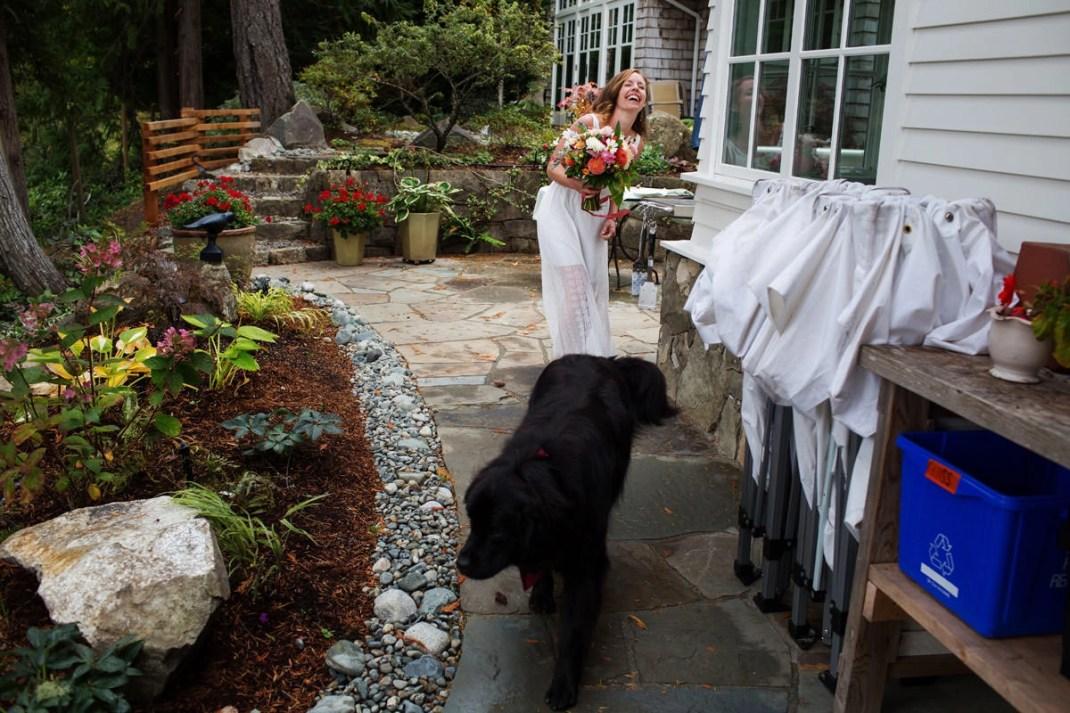 Oceanfront Home Wedding On Salt Spring Island With Billie Luke