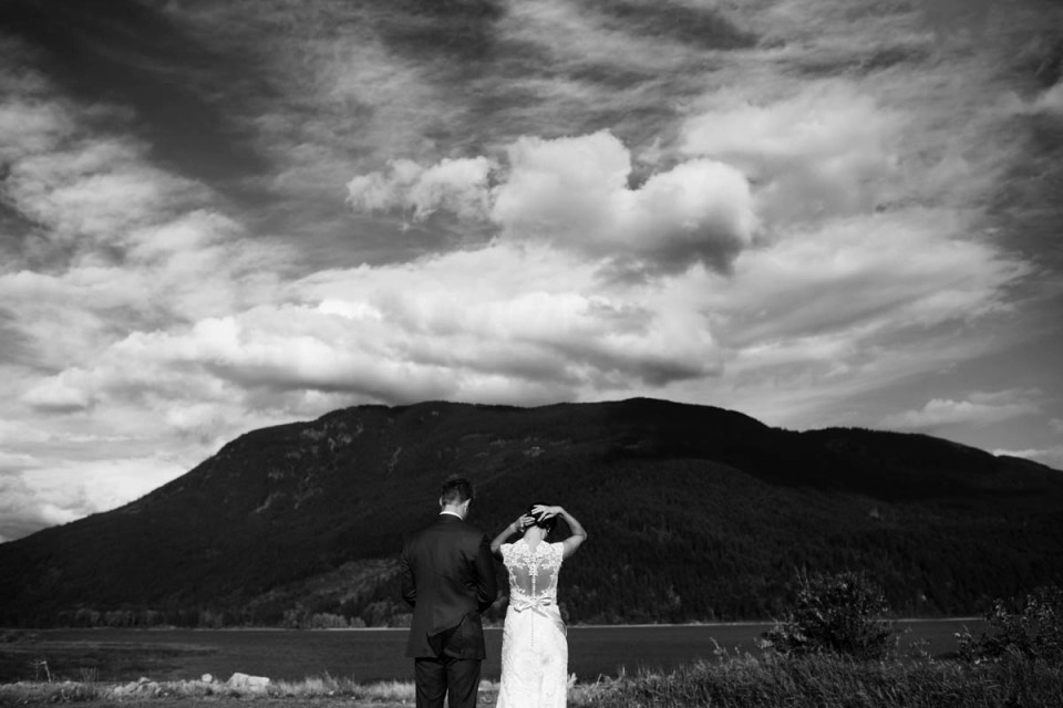 Joy Filled Summer Wedding At Rowenas Inn On The River In Harrison Mills Bc