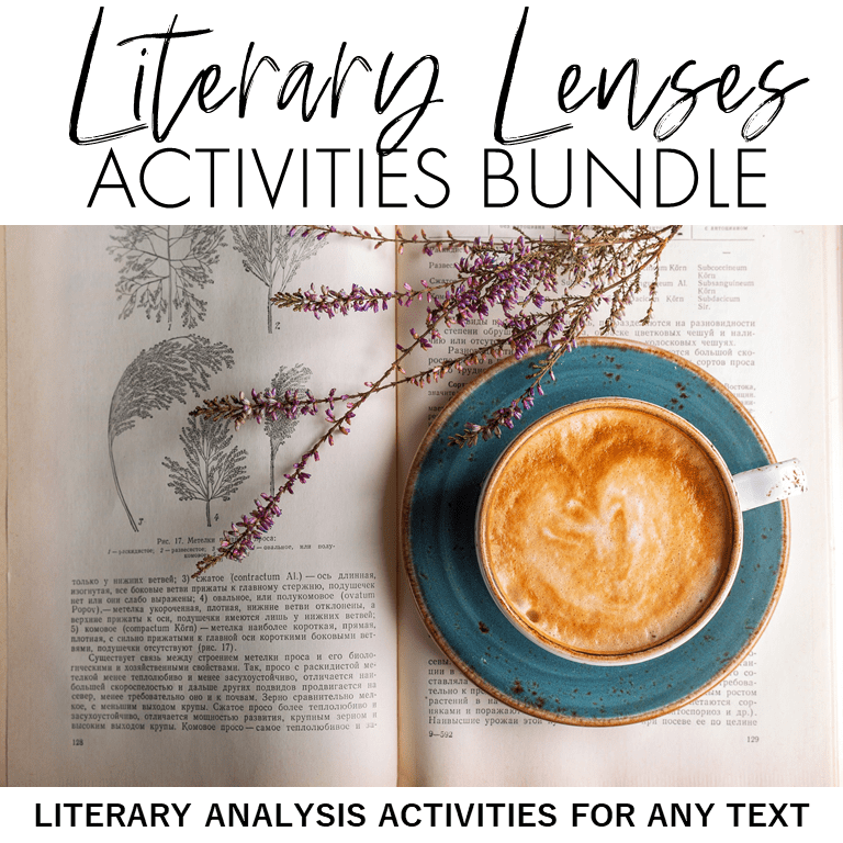Are your students critical readers and thinkers? This post has everything you need to teach literary theory and criticism in your middle school and high school English Language Arts classroom through literary lenses. In this resource, you'll find strategies, ideas, activities, text pairings, and graphic organizers to encourage critical thinking skills from Bloom's taxonomy and meet Common Core standards.
