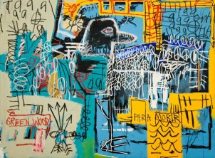 Charlie Bird Parker tribute by Jean-Michel Basquiat