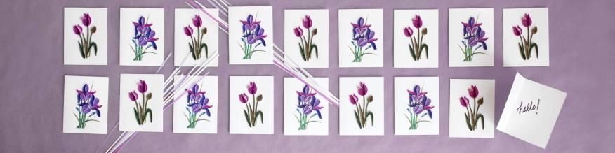 Art image for Quilling Card social media