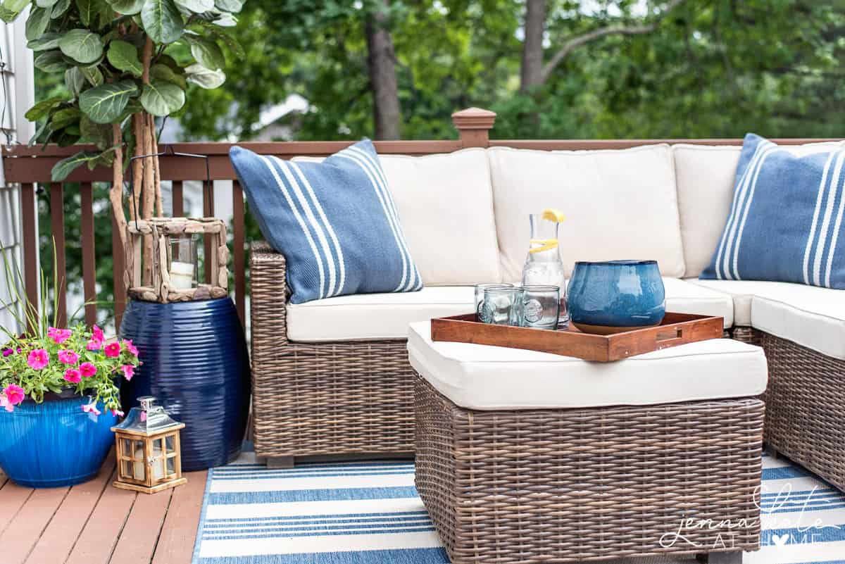 Decorating Ideas For a Small Deck: Tips For Creating A ... on Small Back Deck Decorating Ideas id=70995