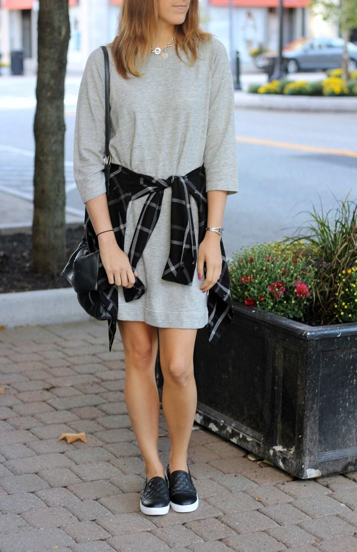 OOTD | Sweater Shift Dress