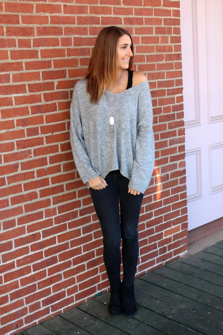 OOTD| The Perfect Oversized Sweater for Tall Girls