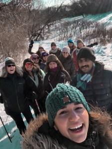 Twin Cities Minnesota Yoga Teacher Restorative Yin Vinyasa Hiking Meditation Snowshoeing Workshop Leader