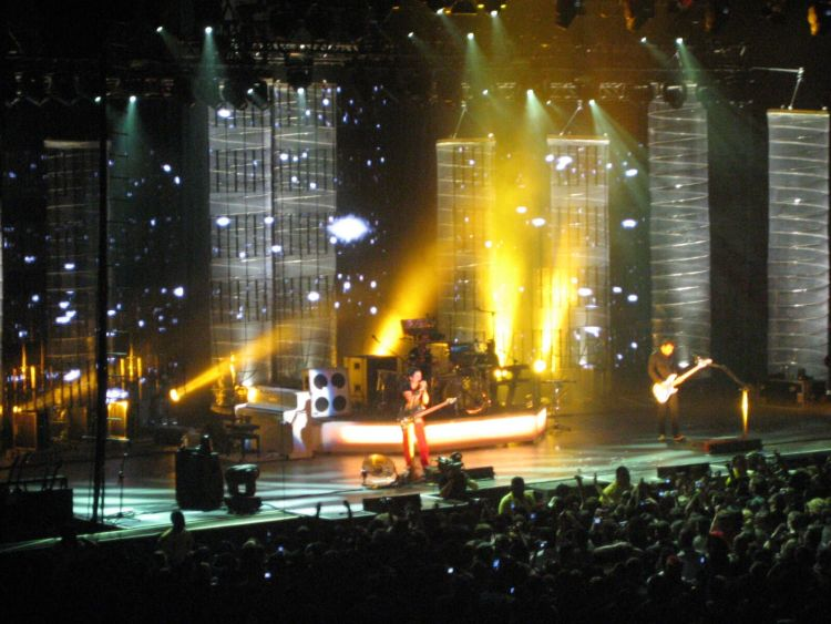 Muse in Los Angeles 2007