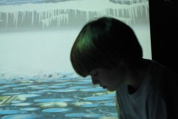 Carter at the Montreal Science Centre