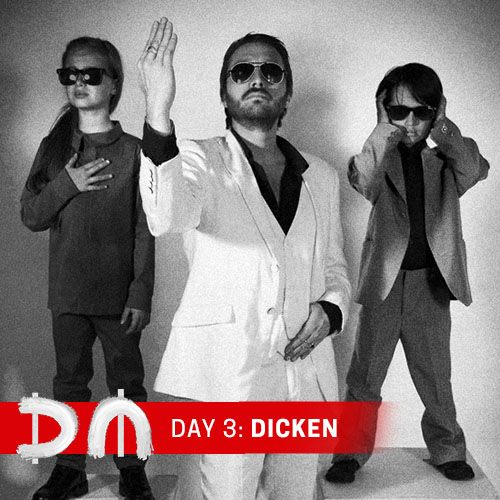 Dicken Schrader and DMK, Day 3 of the Depeche Mode Facebook Takeover
