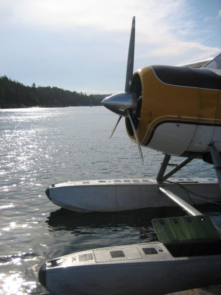 Friday Harbor sea plane