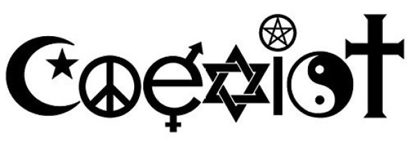 Coexist. The sentiment that we all must learn to live together in peace.