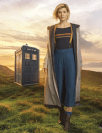 Dr. Who as a real, biological female, after having been a real, biological male. This is true transsexualism.
