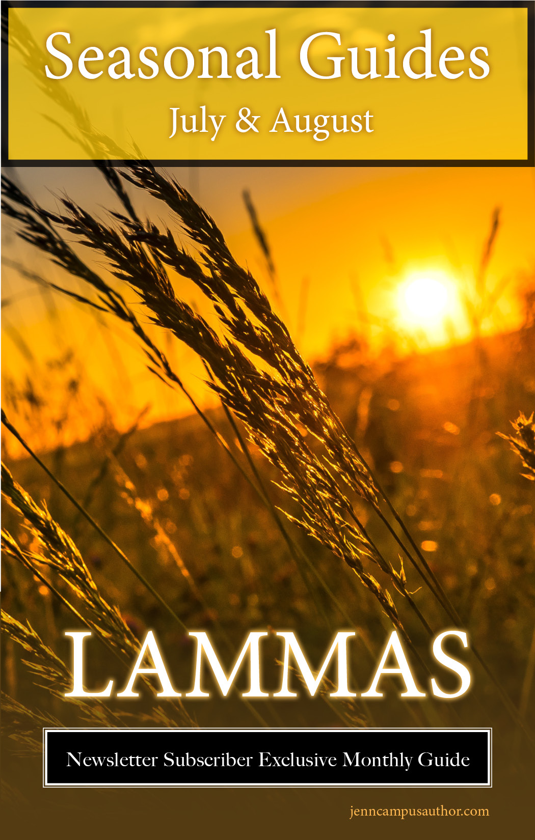 Seasonal Guide for July & August - Lammas