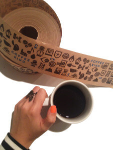coffee kind tape
