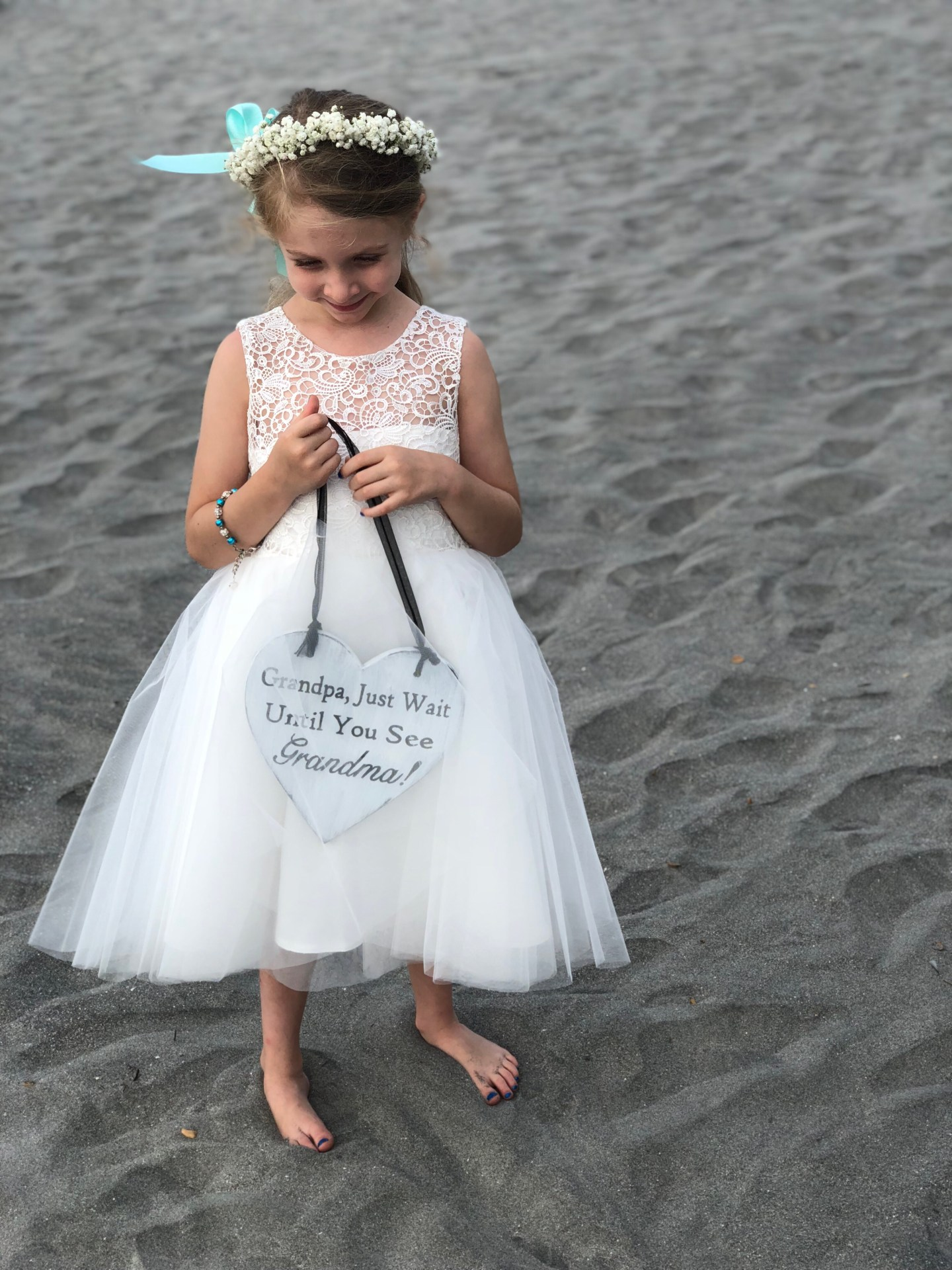 1c4d2eade Brooke was the flower girl. We got her dress on Amazon. Miama Ivory Lace  Tulle Wedding Flower Girl Dress Junior Bridesmaid Dress,Ivory,2T