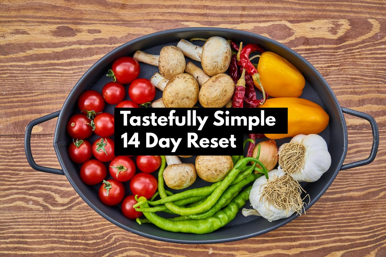 Tastefully Simple 14 Day Reset
