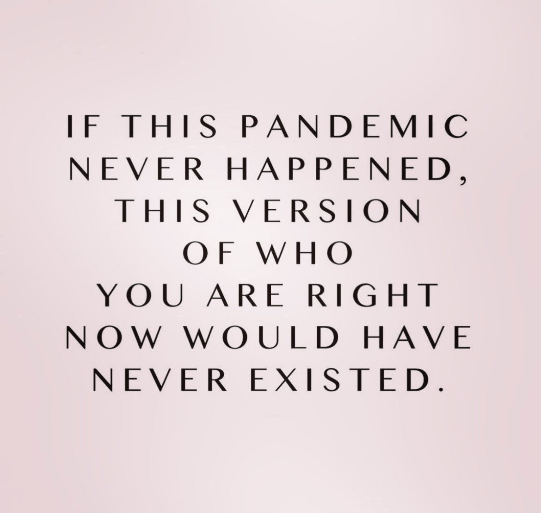 I Confess: Pandemic Version