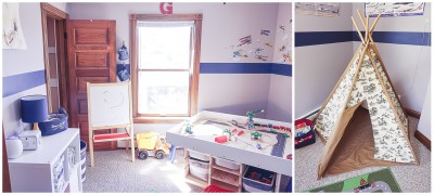 Making a Rented Space Feel Like Home | Playroom
