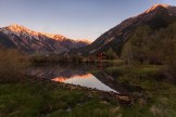 Historic Twin Lakes, CO sits in the shadows of Rinker Peak and Mt. Elbert, the highest peak in the Rocky Mountains in North America.