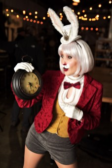 Crystal Tresachia as The White Rabbit
