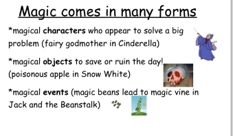 Example of Magic in Fairy Tales