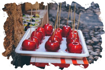Autumn Toffee apples