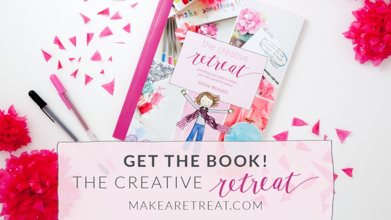 The Creative Retreat is your guide to creating a personal retreat!
