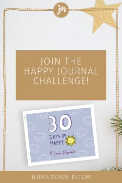 Want to increase your mindfulness, happiness, and overall satisfaction with your life? Join my 30 day happy journal challenge and see your happiness soar. Especially for creative types and lovers of the little things!