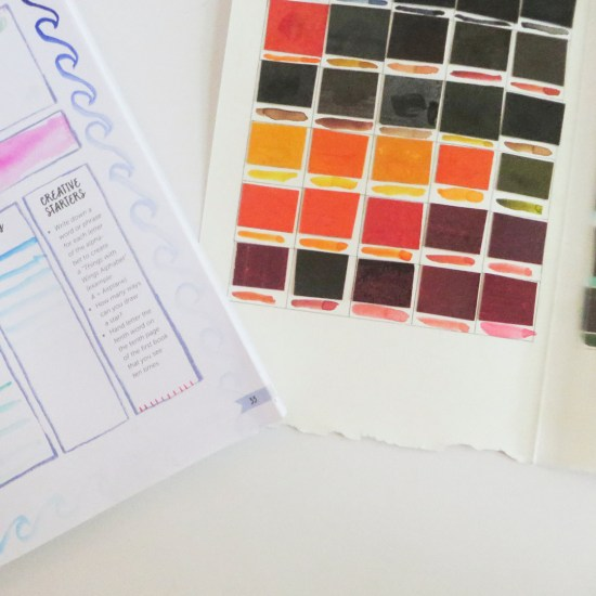 Join this fun (and easy) art journaling challenge, and start filling up your lovely art journal TODAY! We are going to have so much fun with biweekly prompts that you can work on at your own pace. And it's FREE! #artsupplies