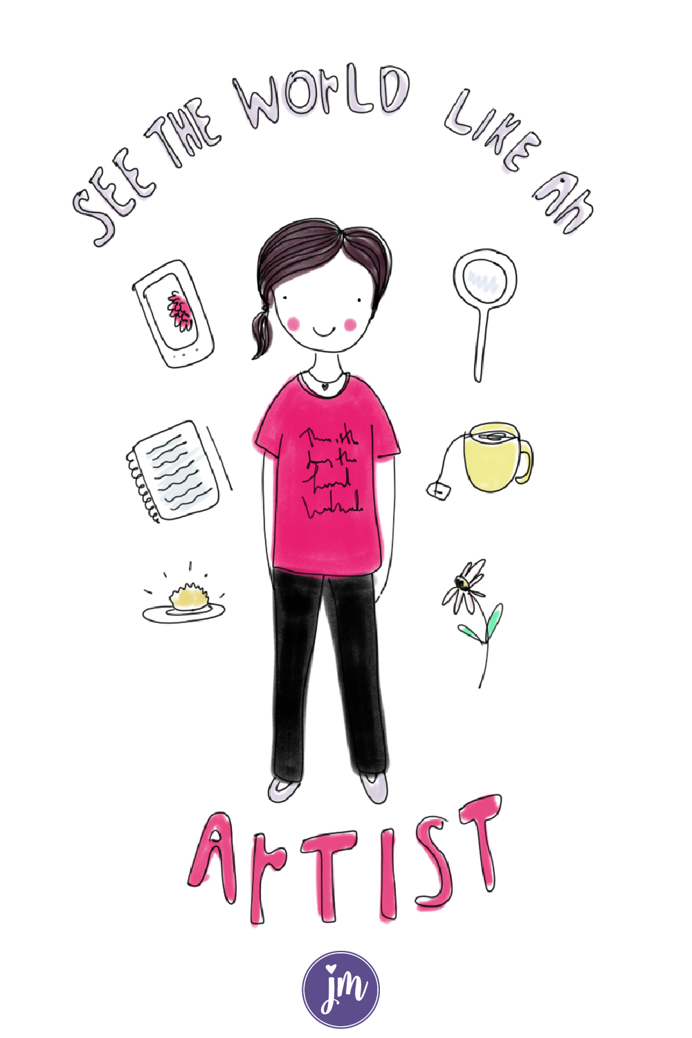 Learn to see the world like an artist with these seven prompts. Anyone can practice mindfulness and grow in their creative life by using these tips! I definitely need to try these and explore where I live more. I know this will help me in my art journal and probably even my bullet journal!