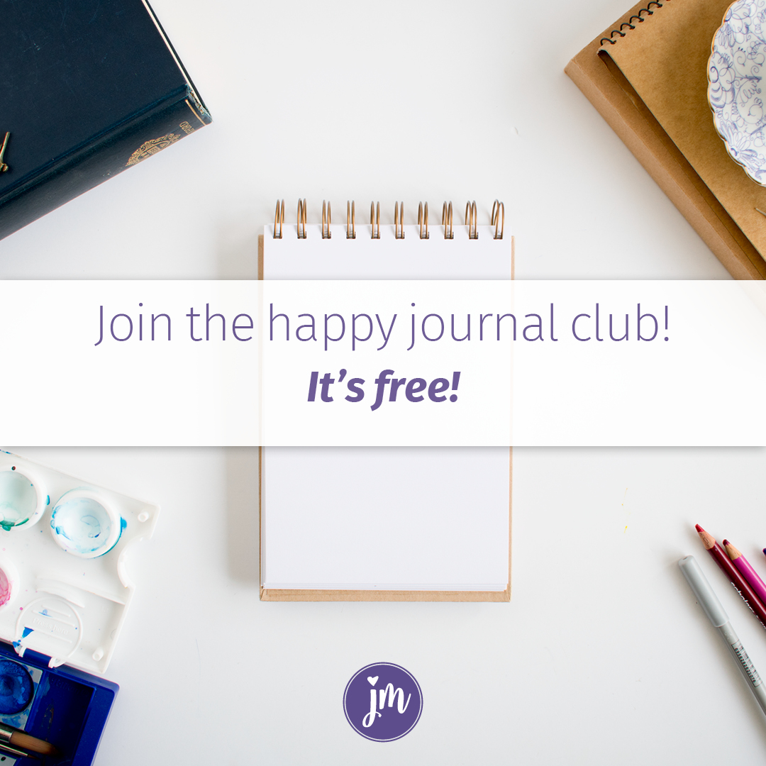 join the happy journal club its free