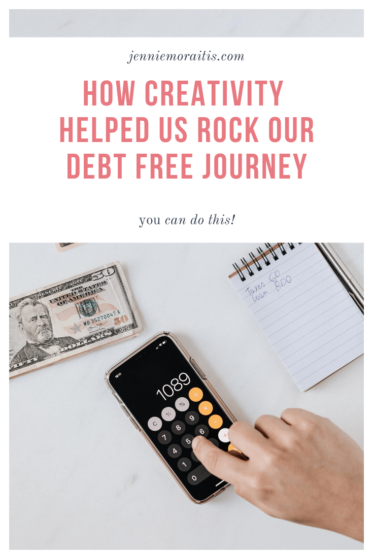 How Creativity Helped Us Rock Our Debt Free Journey. Our jump to being debt free was a LONG road, but with persistence and a lot of creativity, we did it!