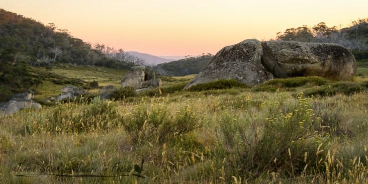Rennix Trail sunrise in Kosciuszko National Park, New South Wales