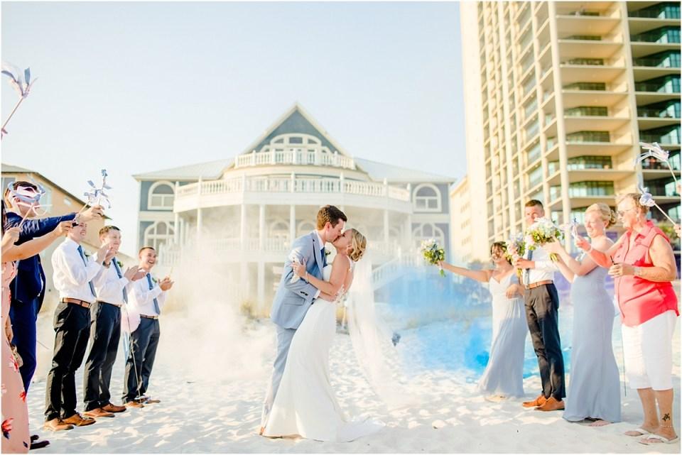 Rumors Beach House Wedding Orange Beach, AL