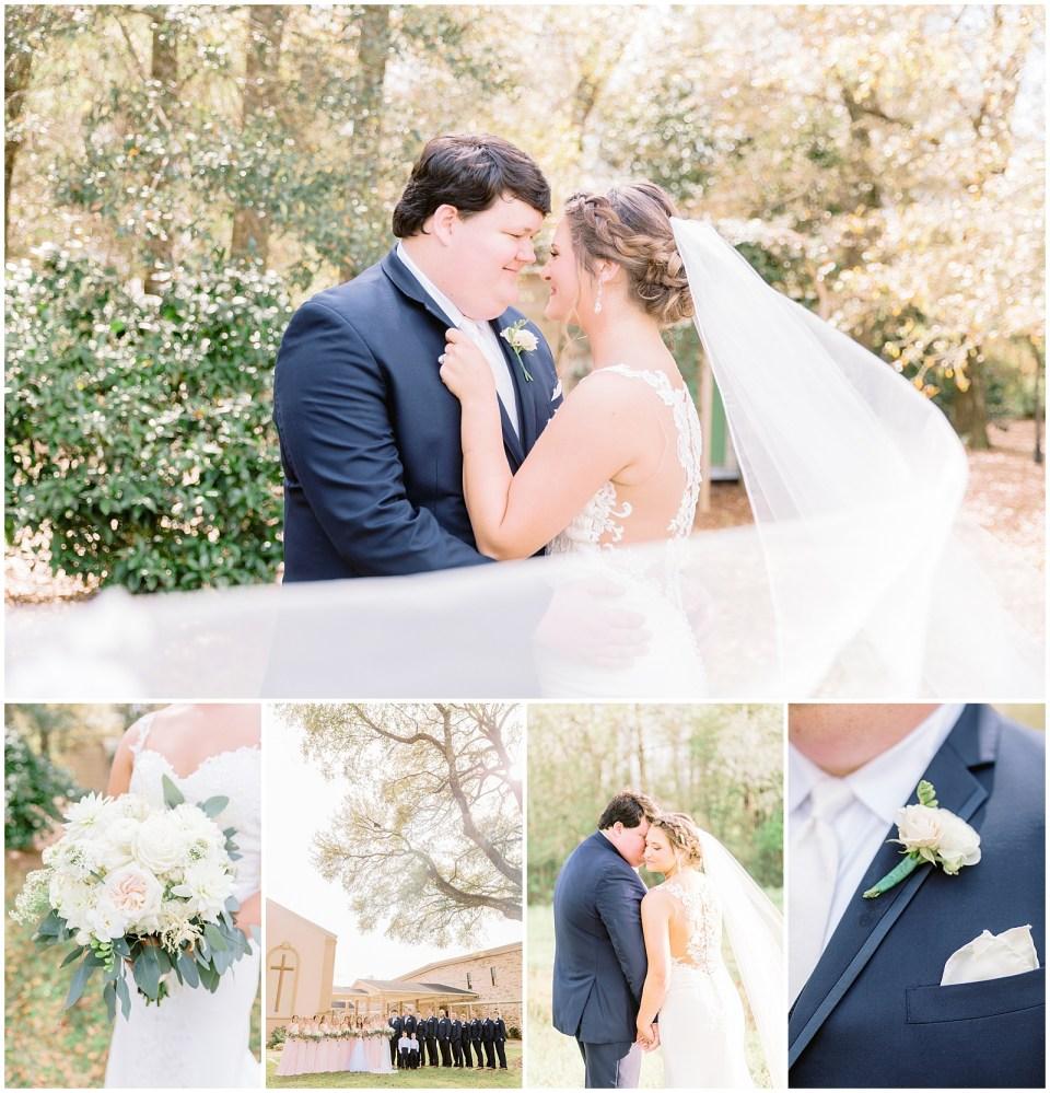 Alabama wedding photographer. Pink, pastel wedding.