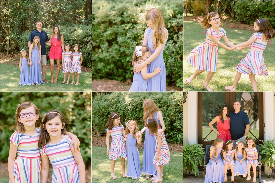 front porch mini sessions in Mobile / Baldwin County