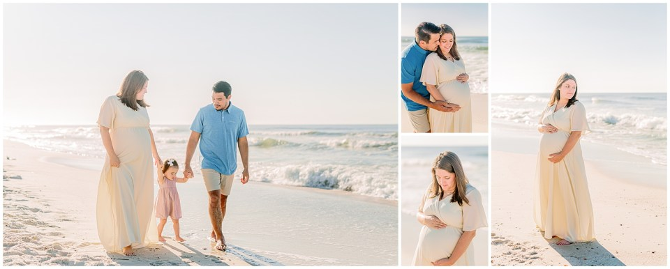 family and maternity photos on the beach in Orange Beach, Alabama