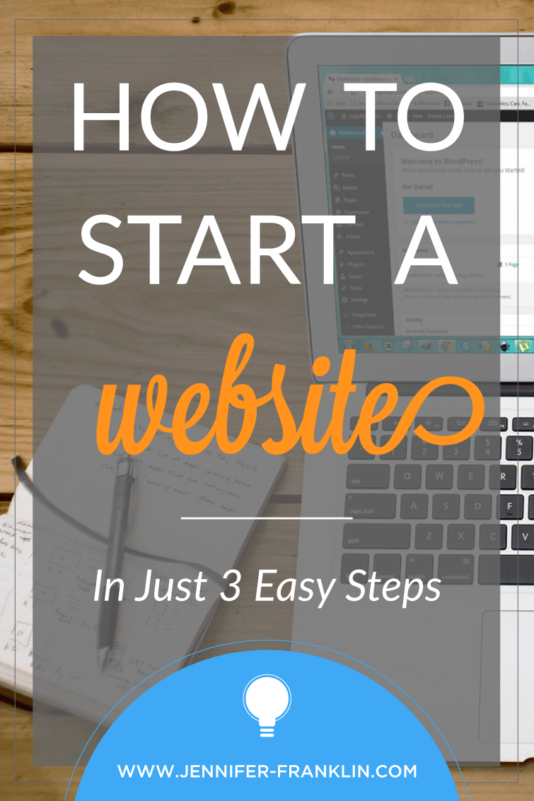 Your customers are looking for you online. Make it easy for them to find you. Start a website in 20 minutes with these three easy steps. Read more at Jennifer-Franklin.com.