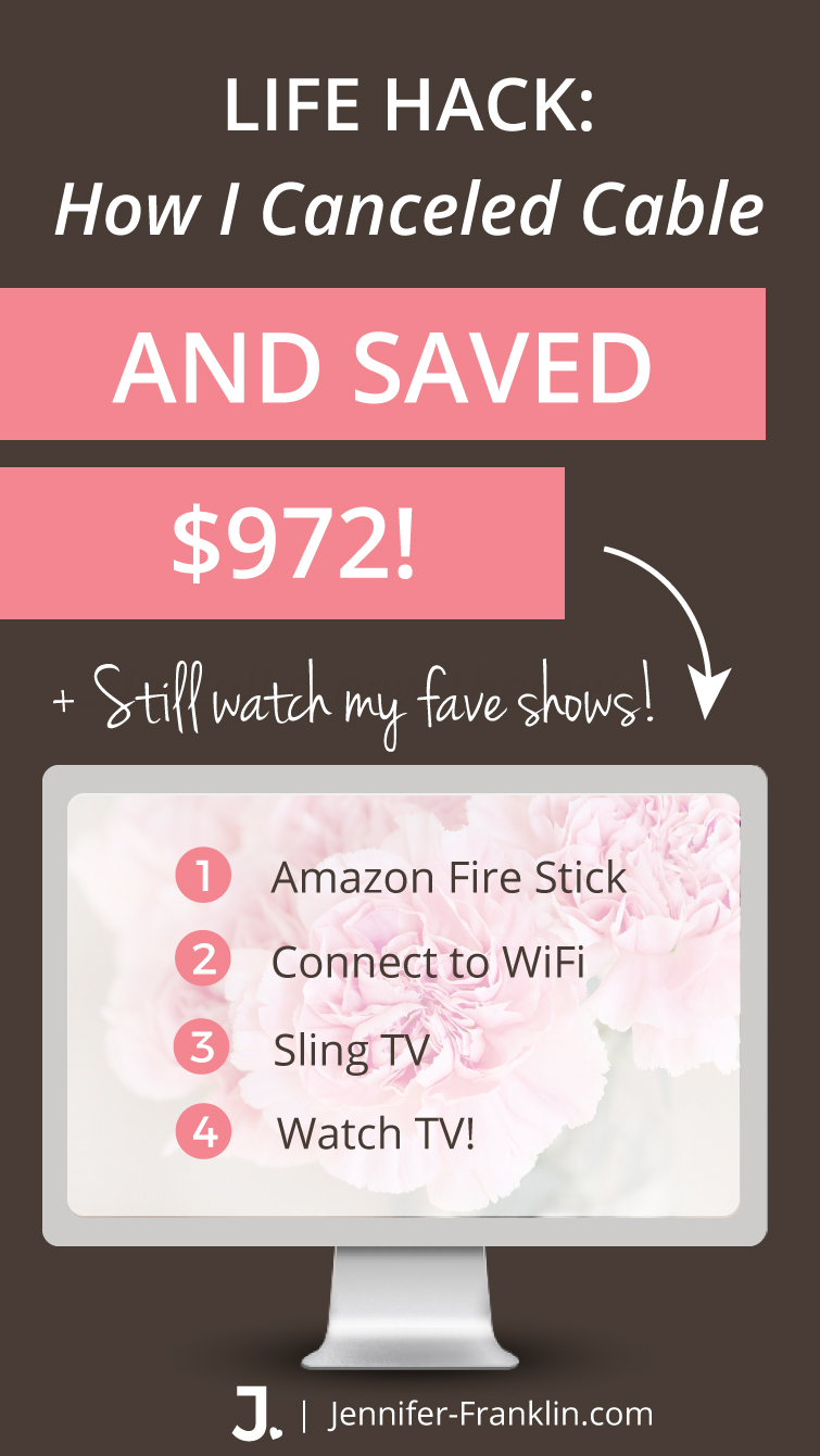 It's March Madness and with so much attention focused around watching sports on TV, I figured it's the perfect time to bring you my first Life Hack where I cancel cable save money!