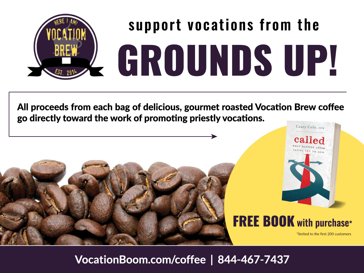 Vocation Brew Ad: Free Book With Purchase | Jennifer-Franklin.com