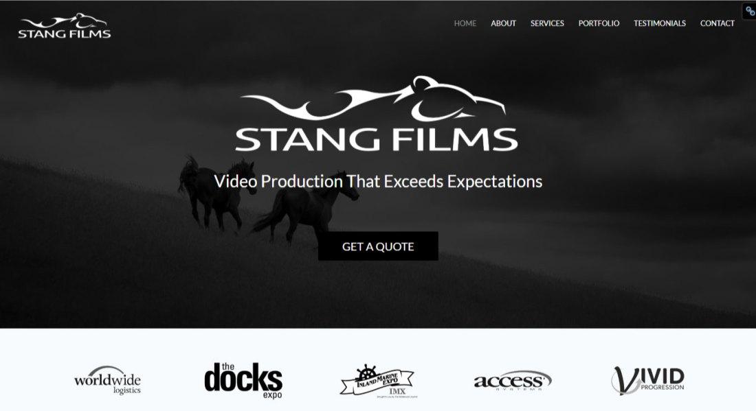WordPress Website Design | Jennifer Franklin Portfolio | Videography Website Design | Jennifer-Franklin.com