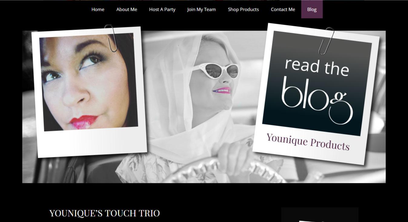 WordPress Website Design | Younique Website | Custom Website Design | Jennifer-Franklin.com