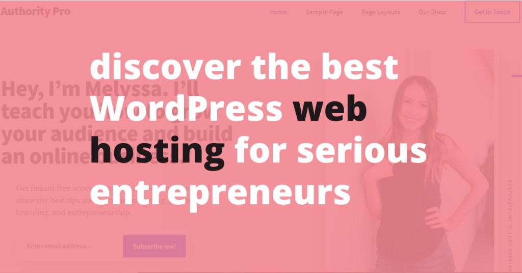 best wordpress web hosting for serious entrepreneurs   Jennifer-Franklin.com