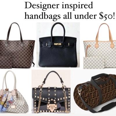 Designer Inspired Handbags for Less